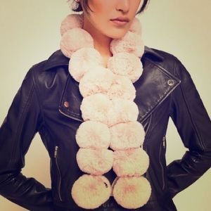 Never worn cute ted baker Pom Pom scarf
